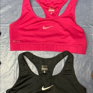 Set of Two - Nike Pro Dri-Fit Sports Bras